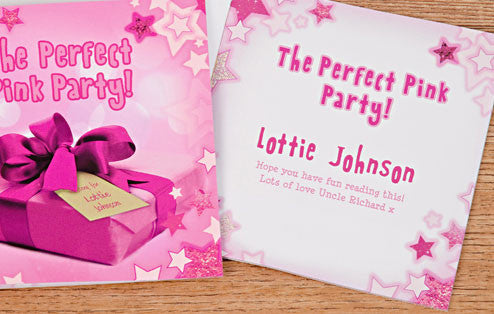 Personalised The Perfect Pink Party Book - Personalised Gift Solutions - 2
