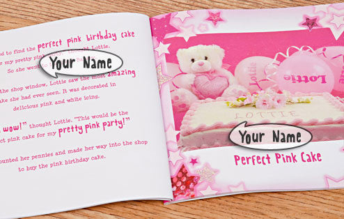Personalised The Perfect Pink Party Book - Personalised Gift Solutions - 3