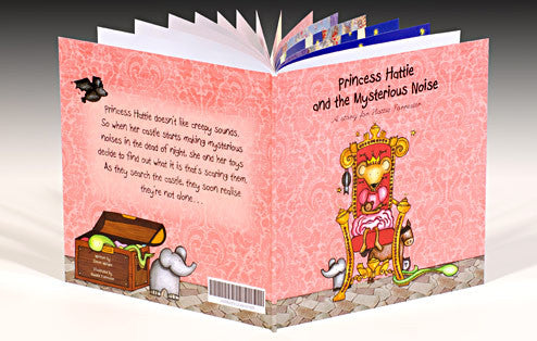 Personalised The Princess and the Mysterious Noise Book - Personalised Gift Solutions - 1