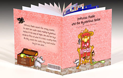 Personalised The Princess and the Mysterious Noise Book