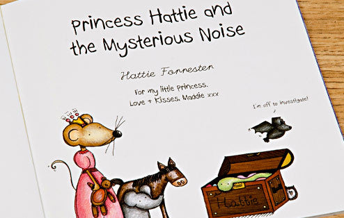 Personalised The Princess and the Mysterious Noise Book - Personalised Gift Solutions - 2