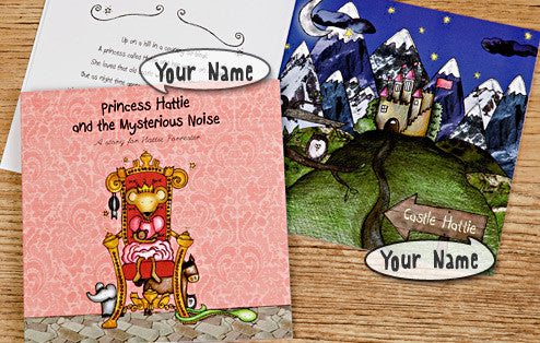 Personalised The Princess and the Mysterious Noise Book - Personalised Gift Solutions - 4