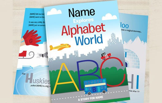 Personalised Alphabet World Book - Personalised Gift Solutions - 1