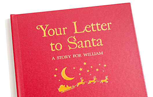 Personalised Your Letter to Santa Hardback book - Personalised Gift Solutions - 2