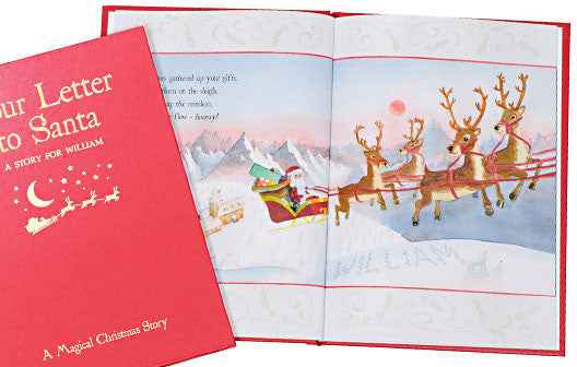 Personalised Your Letter to Santa Hardback book - Personalised Gift Solutions - 5
