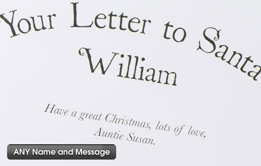 Personalised Your Letter to Santa Hardback book - Personalised Gift Solutions - 6
