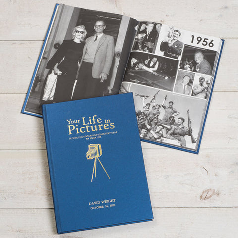Personalised Your Life in Pictures Newspaper Book