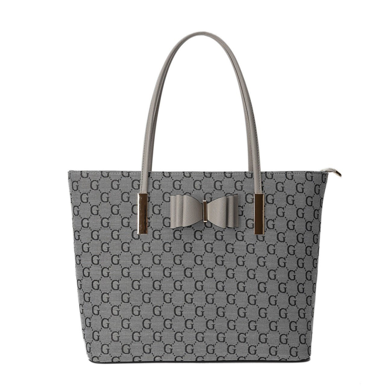 LYDC BOW DETAIL TOTE BAG