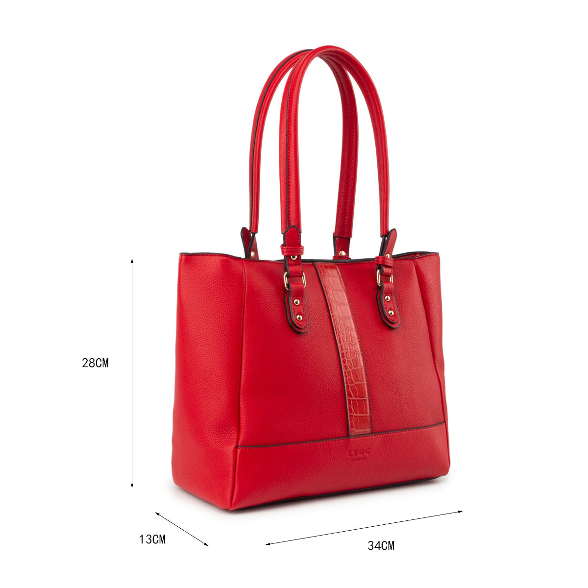 LYDC Luxurious Handbag with Unique Design