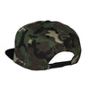 Classic Ring Snapback - Black on Camo