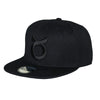 Classic Ring Snapback - Black on Black