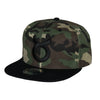 Classic Ring Snapback - Black on Cammo