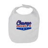 Change Starts With Me baby bib