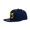 Classic Ring Snapback - Navy/Yellow