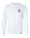 Twitch Long Sleeve Tee- White
