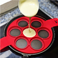 Reusable Silicone Omelette Mold