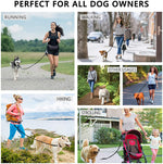 Dog harness no pull dog harness dog leash for running hands free dog leash running leash for dogs