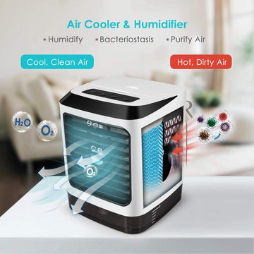 Mini portable air conditioner portable air cooler blaux portable air conditioner mini air conditioner portable portable air conditioner for car