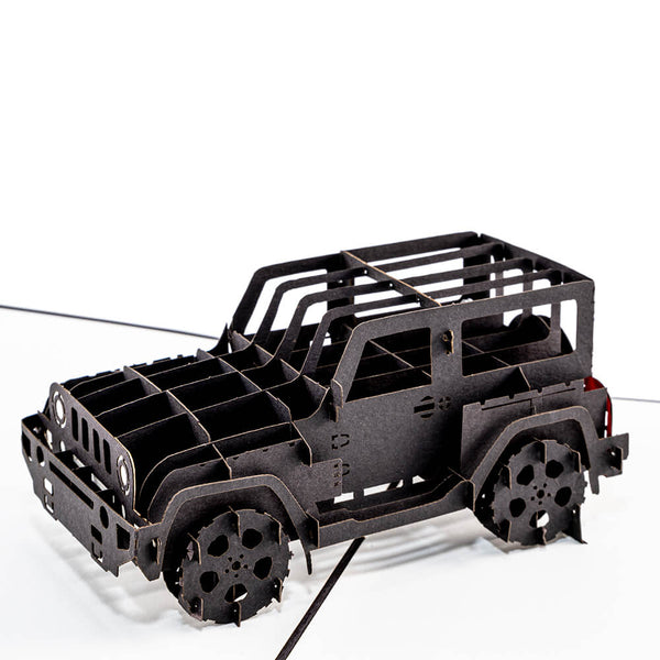 Jeep Pop Up Card