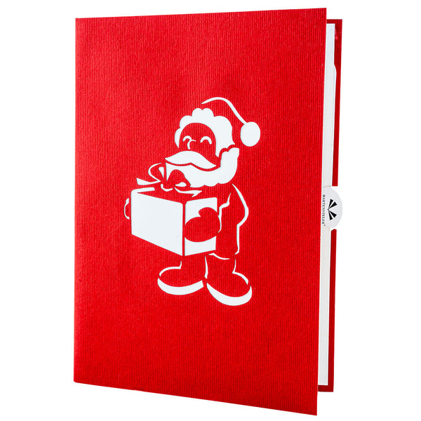 Santa Clause Pop Up Card