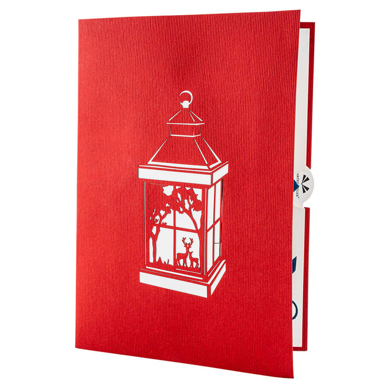 Christmas Lantern Pop Up Card