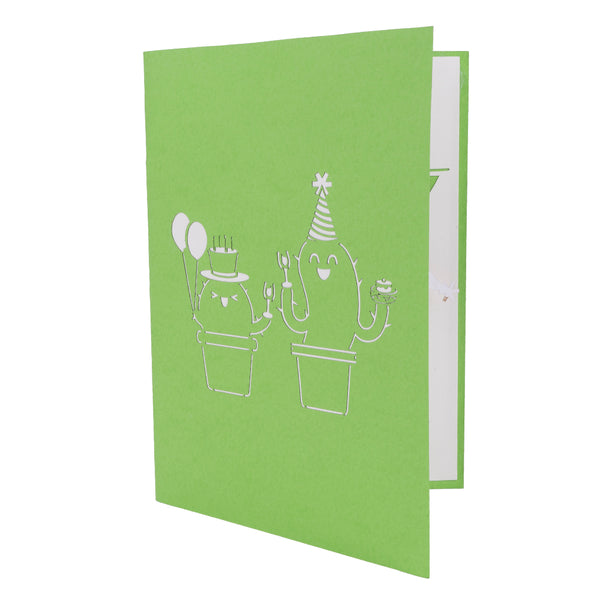 Cactus Pop Up Card
