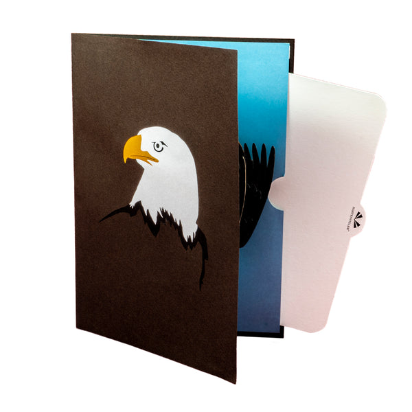 The Eagle Pop Up Card