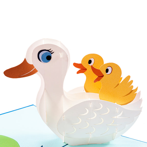 Duck Pop Up Card