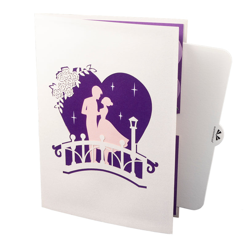 Love Bridge Pop Up Card