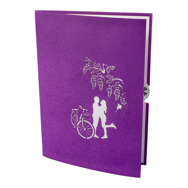 Wisteria Gate Pop Up Card