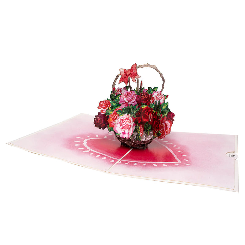 Love Roses Pop Up Card