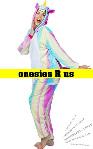 Unicorn Onesie (Rainbow)
