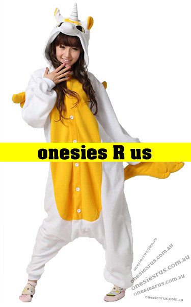 Unicorn Onesie (Yellow)