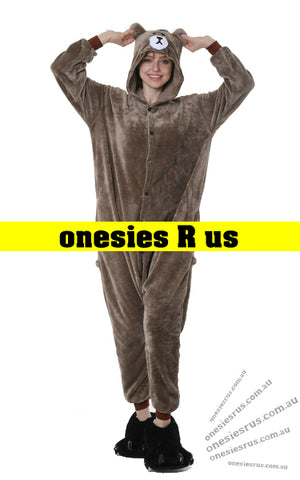 Bear (Brown) Onesie
