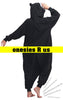 Cat Onesie (Black)