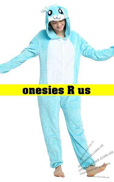 Rabbit (Blue) Onesie