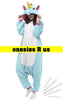Unicorn Onesie (Majestic Blue)