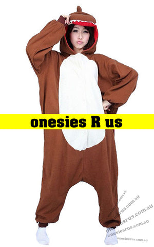 Dinosaur (Brown) Onesie