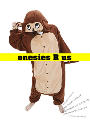 Kids Monkey (Brown) Onesie