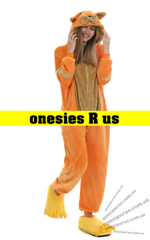 Cat (Orange) Onesie
