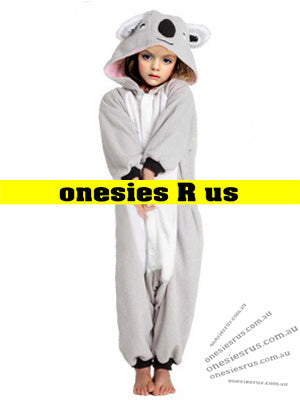 Kids Koala Onesie (Grey)