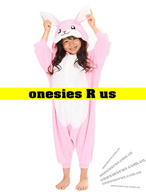 Kids Rabbit (Pink) Onesie