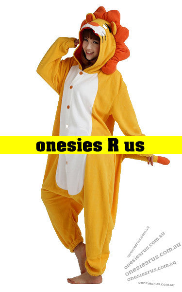Lion Onesie (Yellow)