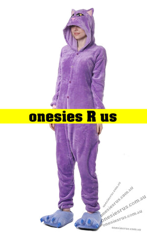 Cat (Purple) Onesie
