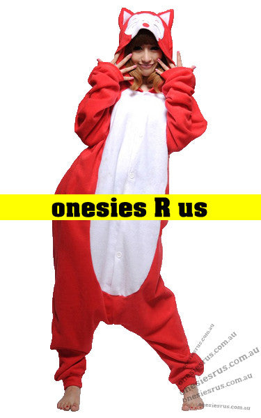 Fox (Red) Onesie