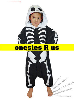 Kids Skeleton Onesie