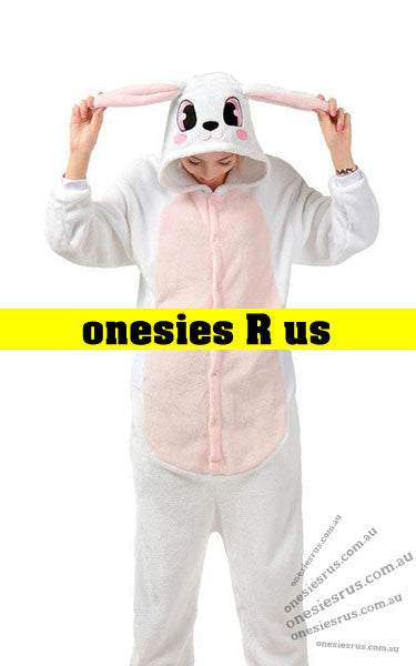 Rabbit (White) Onesie