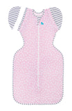 SWADDLE UP TRANSITION BAG LITE 0.2 TOG PINK CIRCLES