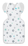 SWADDLE UP TRANSITION BAG LITE 0.2 TOG WHITE CIRCLES