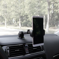 Car Phone Retractable Mount Holder